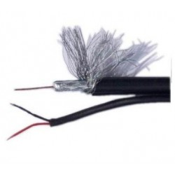 Cable RG59 coaxil siames...